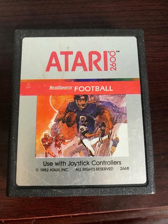 RealSports Football Atari 2600