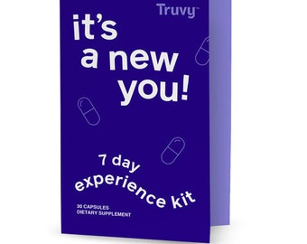 Tuvy - It's a New You! Dietary Supplements - 30 Day Experience Kit 120 Capsules