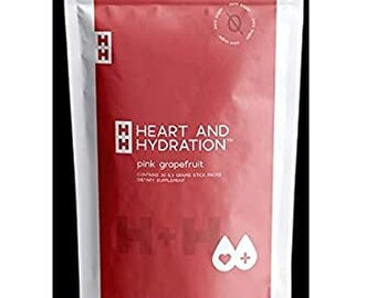 Heart and Hydration PINK GRAPEFRUIT 30ct TRUVISION!