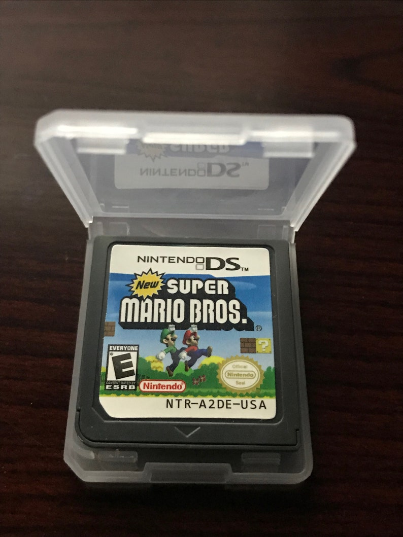 New Super Mario Bros Custom English Nintendo DS