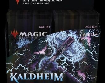Kaldheim  COLLECTOR Booster Box [12 Packs] TCG Magic the Gathering MTG 2/5