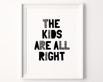 Moderne Kinderzimmer-Drucke motivierende Art sofortiger | Etsy