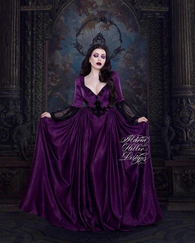 Gothic Wedding Dress.Gothic Dress Fantasy Dress Gothic Wedding Dress Victorian Bridal Couture Dress Victorian Dress Theme Wedding Goth Dress Gothic Bridal