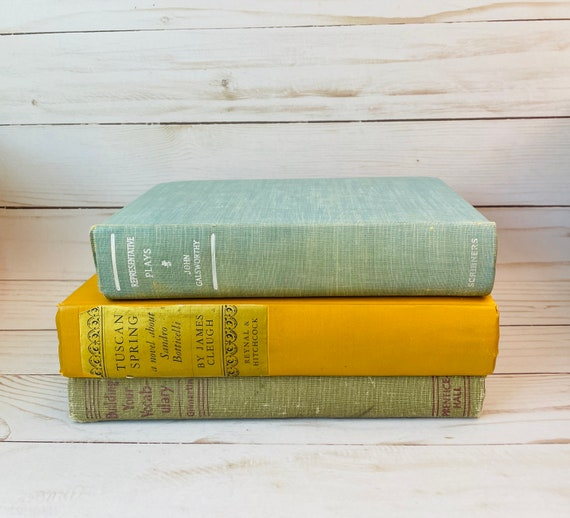 Lot of 4 Small Vintage Books