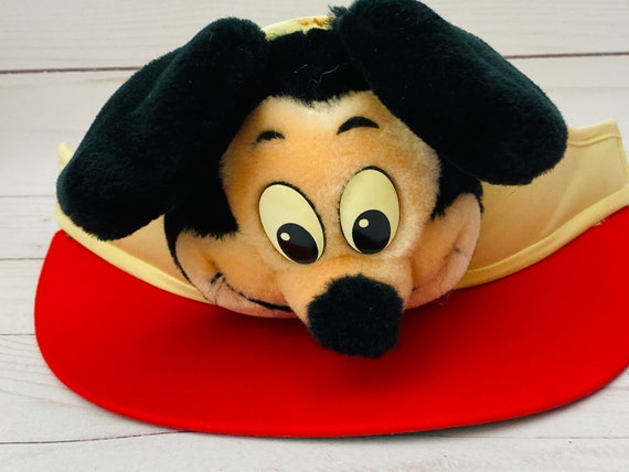 Vintage Walt Disney Productions Mickey Mouse Visor Hat--Vintage Mickey Mouse Hat--Vintage Disneyland Souvenir