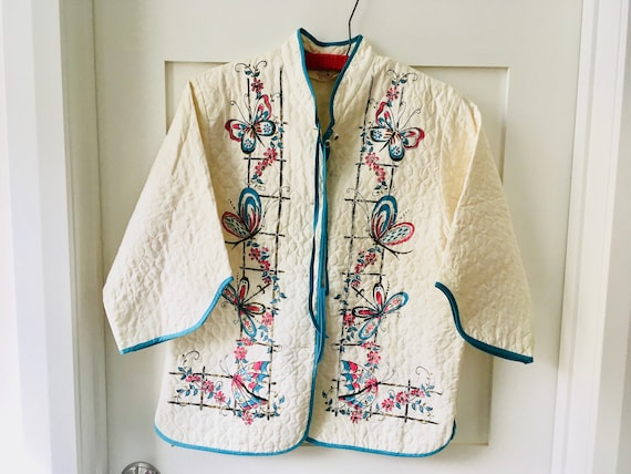Vintage Tele-Queen Bed Jacket