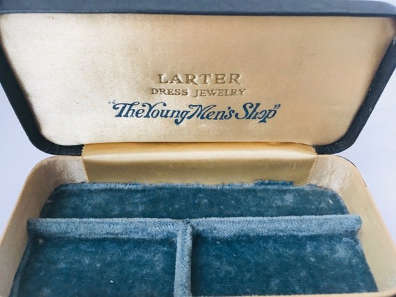 "Presentation Box, Edwardian Larter ""The Young Men's Shop"" Jewelry"