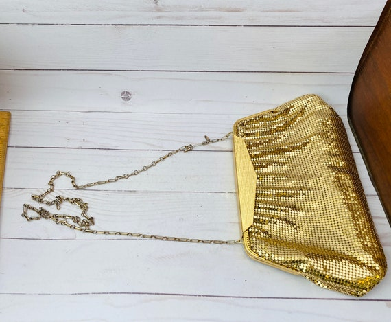 Whiting & Davis Gold Mesh Purse--Gold Mesh Purse