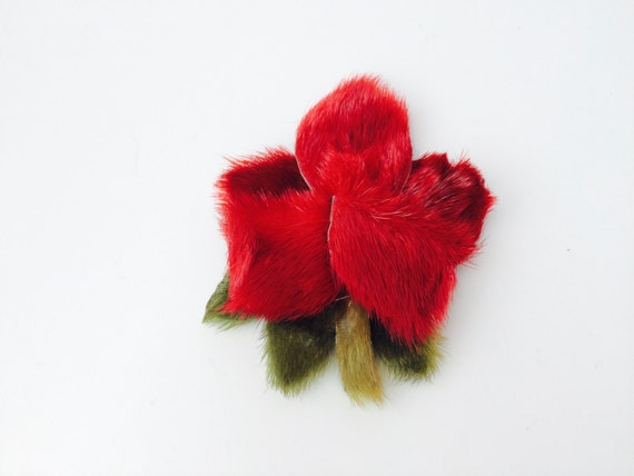 Vintage Large Flower Brooch
