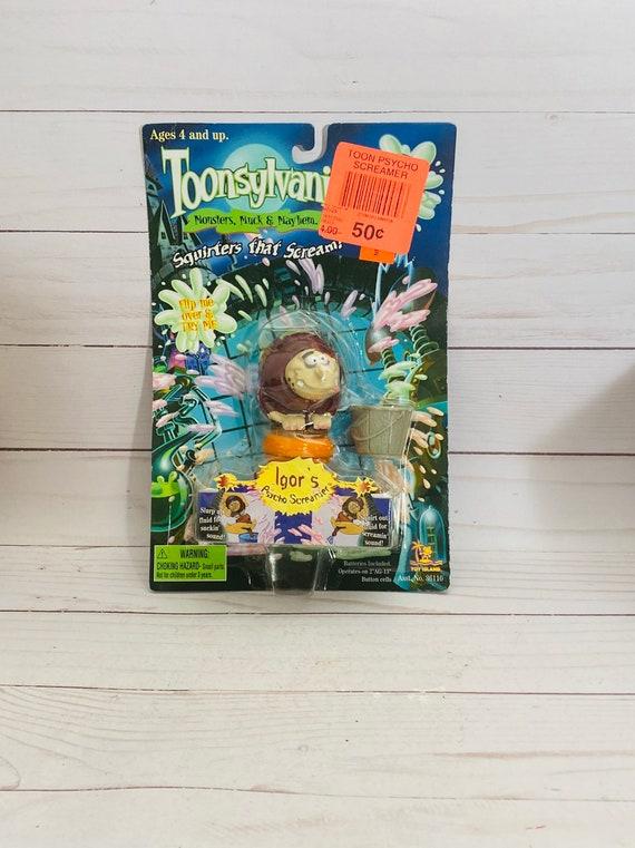 1998 Toonsylvania Igor's Psycho Screamer-- 90s Toys