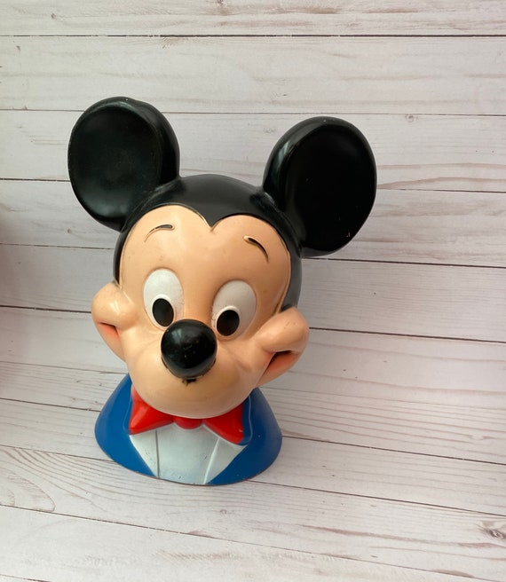 Mickey Mouse Coin Bank, 1971 Walt Disney Productions