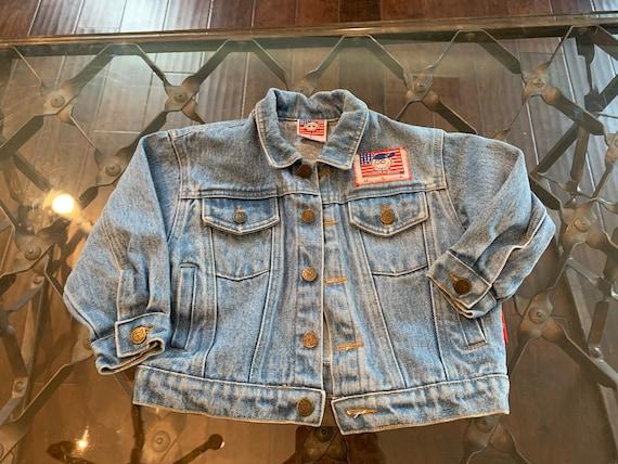 Danny First Kids Denim Jacket Size Small