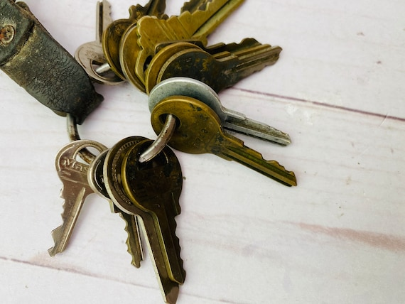 Lot Of Vintage Keys- Vintage Keys