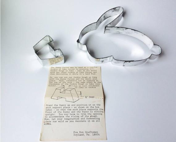 Vintage Fox Run Craftsmen Bunny Cookie Cutter