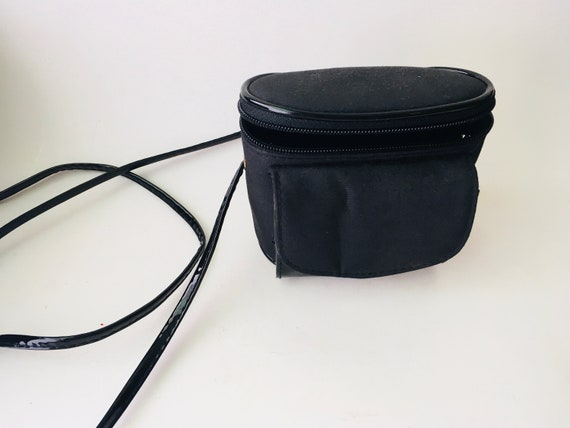 Vintage Mini Black Belt Bag