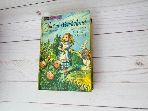 1963 Alice In Wonderland--Vintage Companion Library Books