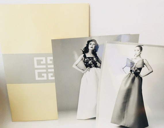 Vintage 1983 Givenchy Haute Couture Fashion Photos And Givenchy Folder