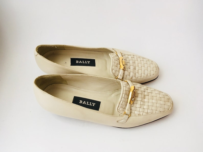 d3d1b7df065b3 Vintage Bally Loafers In Size 4/Vintage Bally Shoes/Vintage Bally Shoes  Size 4/Made In Italy Shoes Size 4/Vintage Designer Shoes Size 4