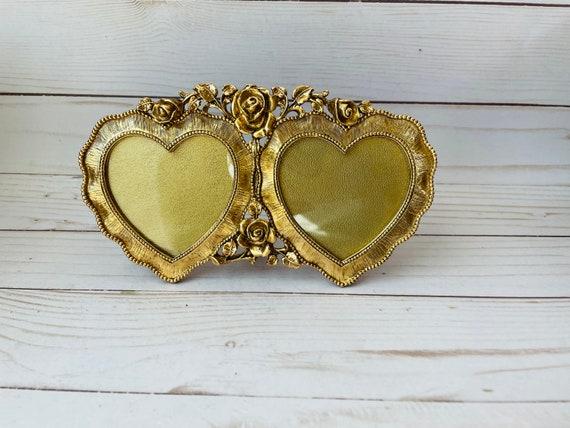 Stylebuilt Heart Shaped Photo Frame--Double Heart Shaped Photo Frame