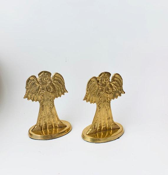 Brass Candleholders - Vintage Angel Candleholder
