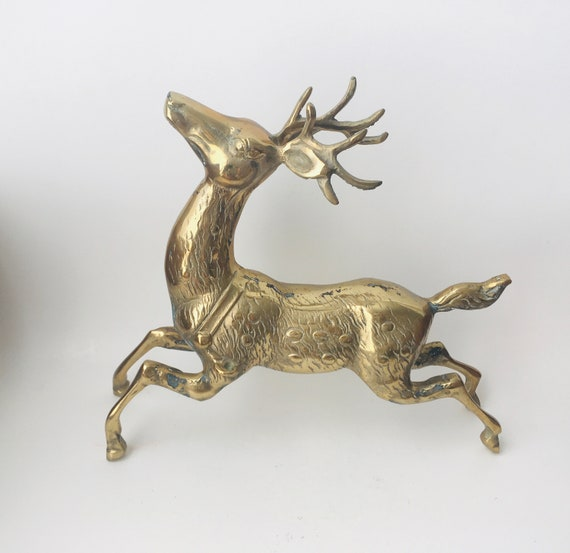 Brass Reindeer- Brass Animal