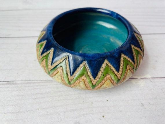 Studio Pottery Trinket Dish