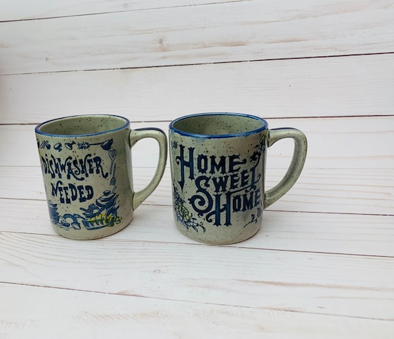 Vintage Speckled Mugs Made in Japan