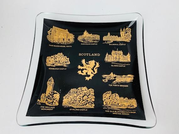 MCM Scotland Glass Tray