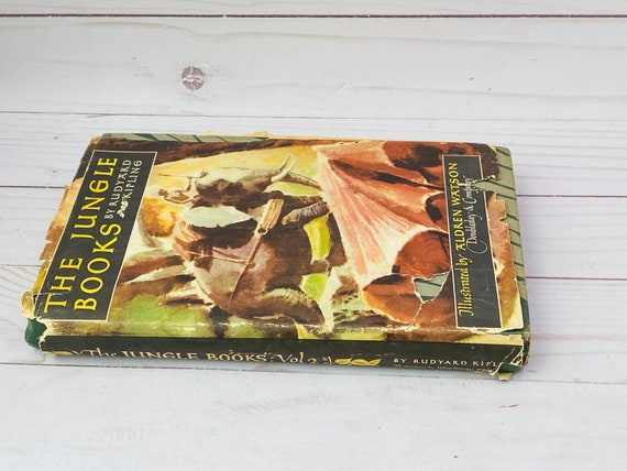 1948 The Jungle Books Vol 2 by Kipling