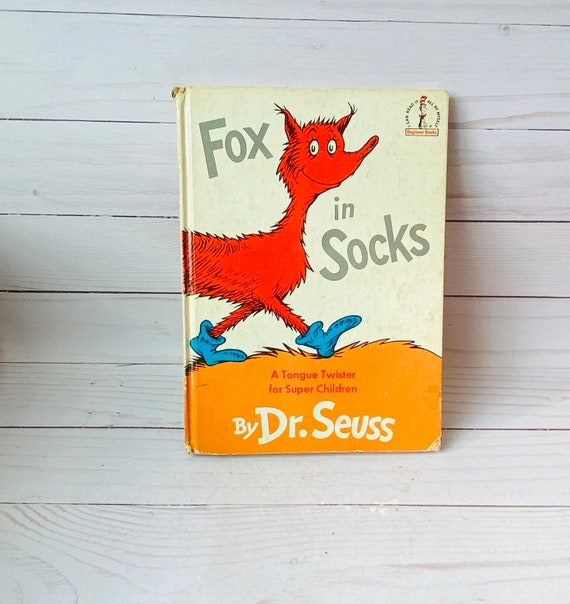 1965 Dr. Seuss Fox In Socks