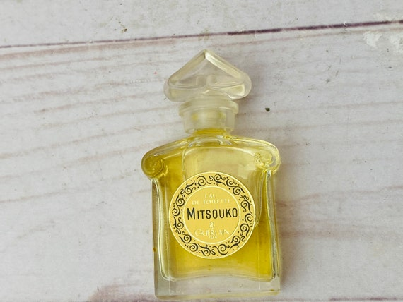 Vintage Guerlain Mitsouko Perfume Bottle