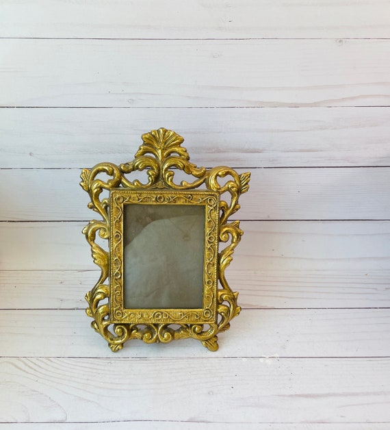 Vintage Ornate Italian Photo Frame--Italian Photo Frame--Baroque Photo Frame