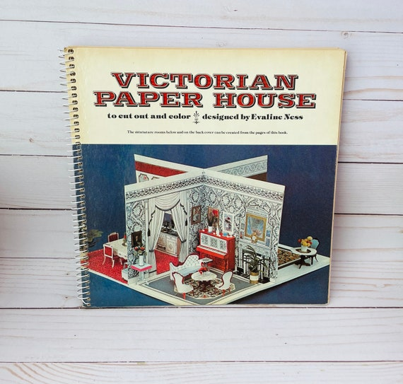 1978 Victorian Paper House By Evaline Ness