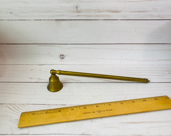Solid Brass Candle Snuffer--Candle Gift