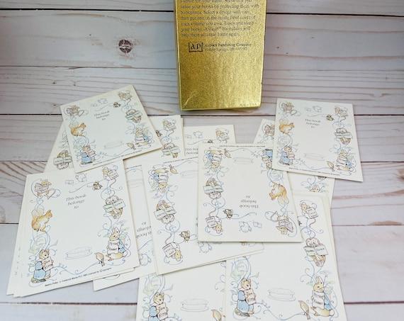 Bookplates--Beatrix Potter Bookplates