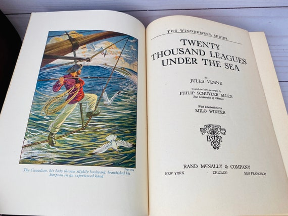 "1933 ""Twenty Thousand Leagues Under The Sea"" by Jules Verne"
