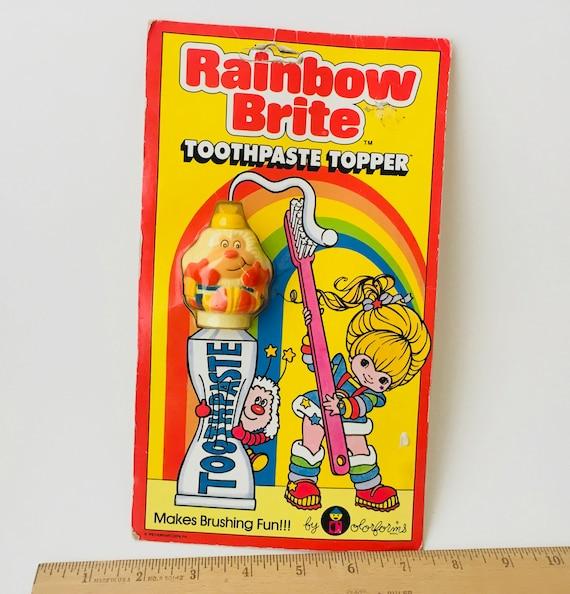 1983 Hallmark Cards Rainbow Brite Toothpaste Topper