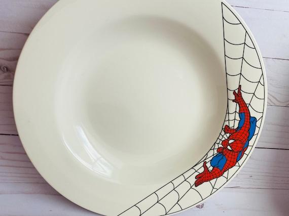 Vintage Classic Oneida Spider-Man Plate