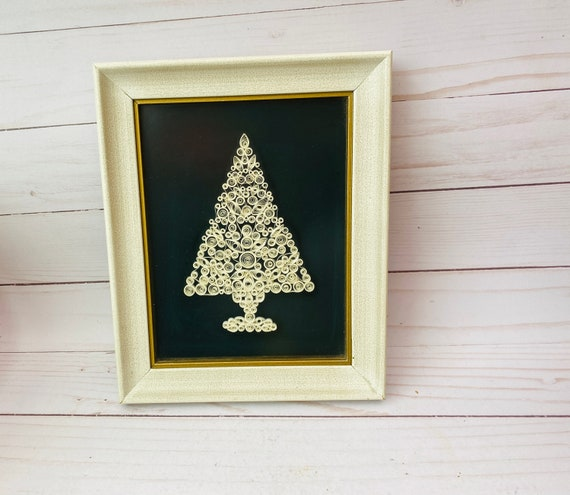 Framed Tree Quilling- Paper Quilling