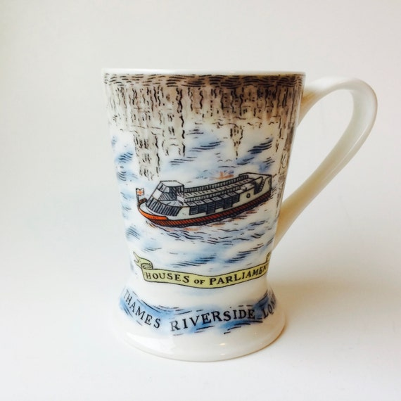 London Pottery Reflections Designed By David Birch London Mug