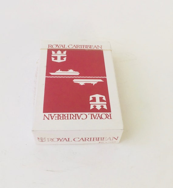 Royal Caribbean Deck Of Cards - New In Box
