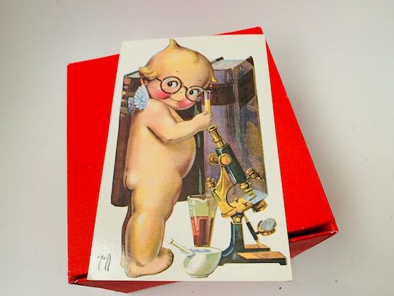 Valentine's Day Card - Vintage Valentine- Kewpie Card