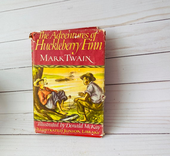 1948 The Adventures of Huckleberry Finn By Mark Twain