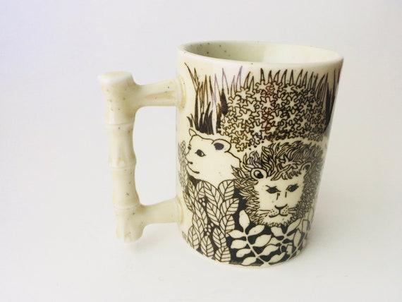 Vintage Speckled Safari Jungle Mug