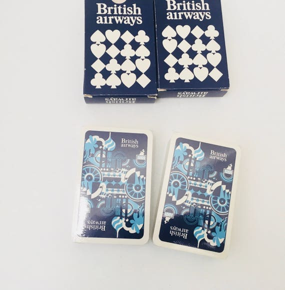 Decks Of Cards - British Airways - Vintage