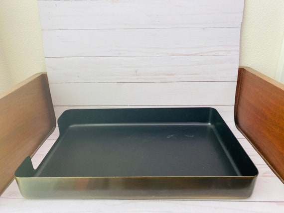 McDonald Products Metal Office Tray--McDonald Products Letter Tray--Modern Office Decor