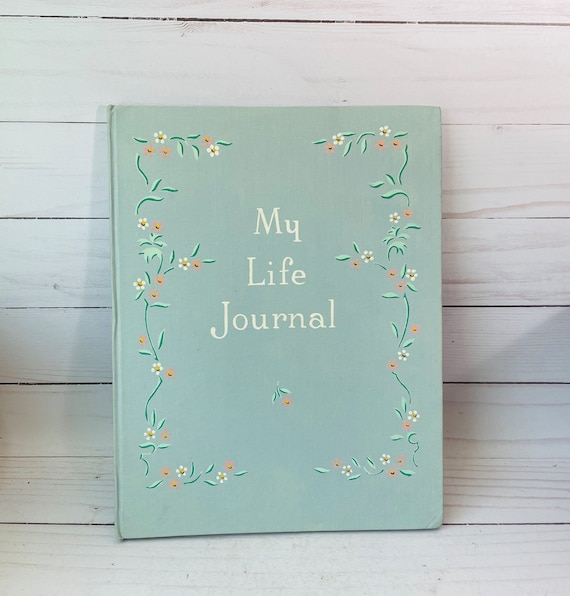 "1941 ""My Life Journal"" Baby Book--Vintage Baby Book"