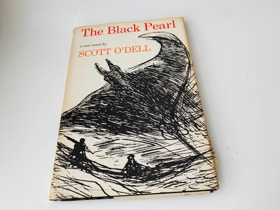 "1967 ""The Black Pearl"" By Scott O'Dell--Author Signed Copy"