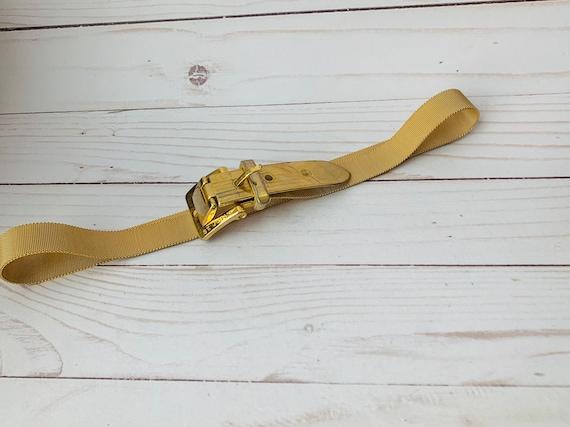Vintage St. John Gold Tone Mesh Belt