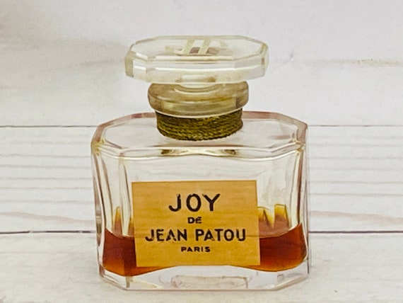 Vintage Joy De Jean Patou Paris Perfume Bottle